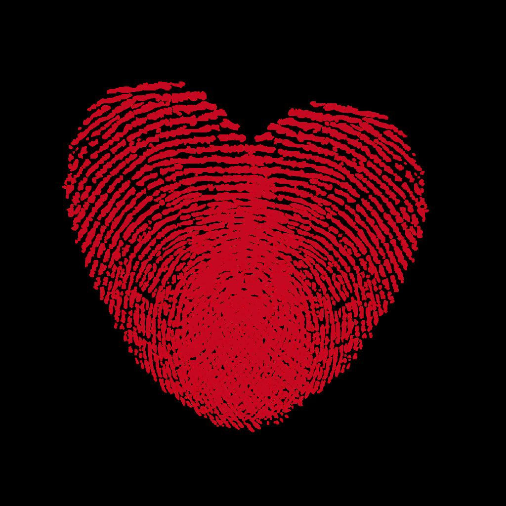 Basketball fingerprint clipart png royalty free stock heart fingerprints blood valentinesday ftestickers... png royalty free stock