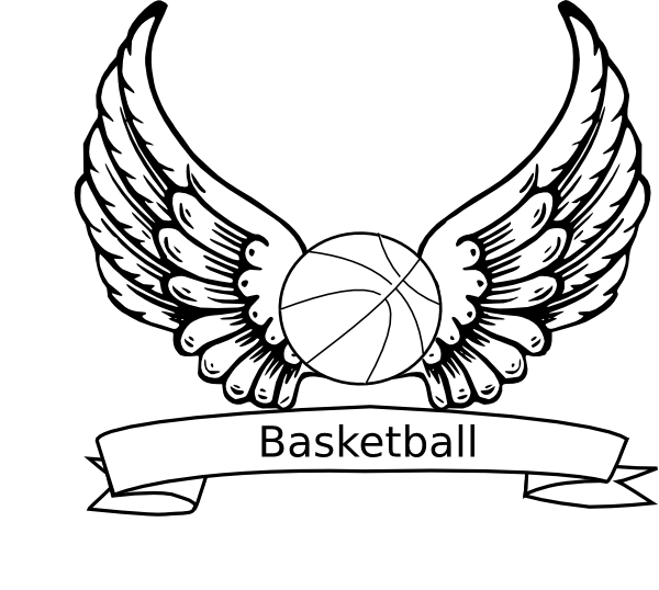 Eagle basketball clipart. Simple drawing at getdrawings