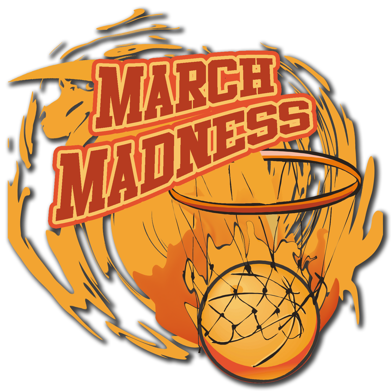 Basketball game clipart clipart freeuse March Madness Basketball Clipart clipart freeuse