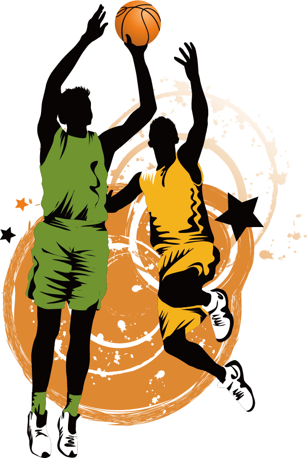 Basketball game today clipart banner library stock Basketball Sport Clip art - Creative basketball game 628*936 ... banner library stock