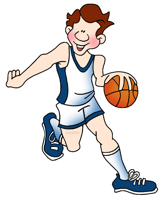 Clipart games basketball svg library stock Toys and Games Clip Art by Phillip Martin, Basketball svg library stock
