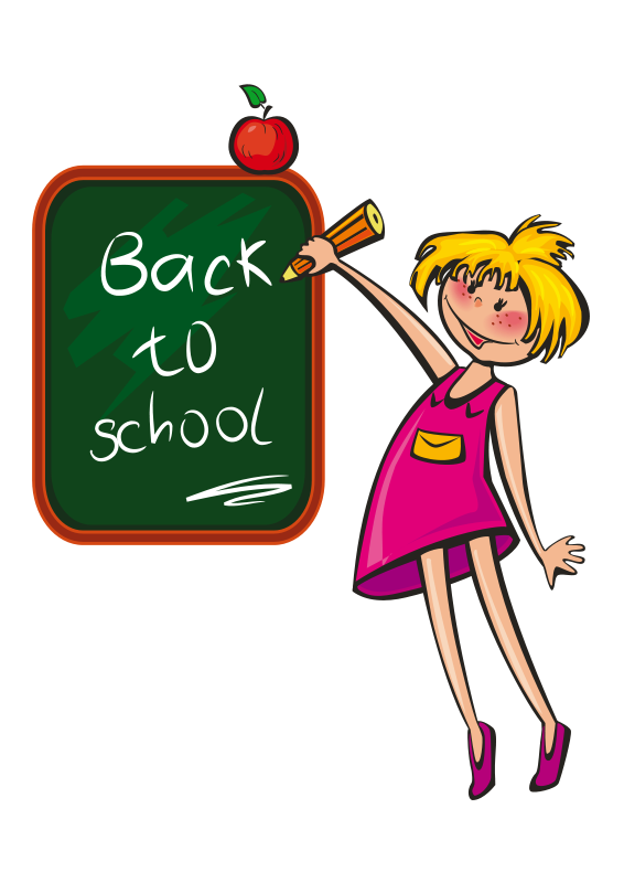School is cool clipart royalty free Girls Clipart Free | Free download best Girls Clipart Free on ... royalty free