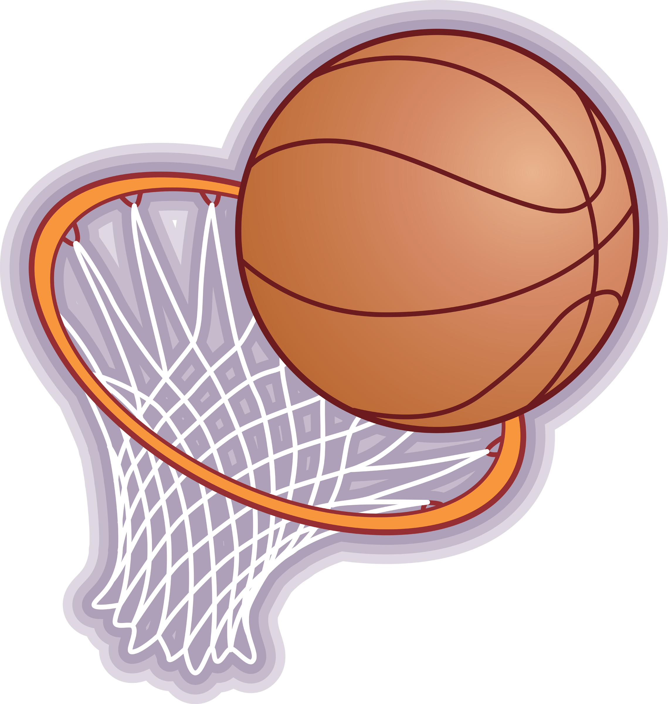 Basketball hoop with ball clipart image royalty free Programs | Grant Beach Neighborhood Association image royalty free