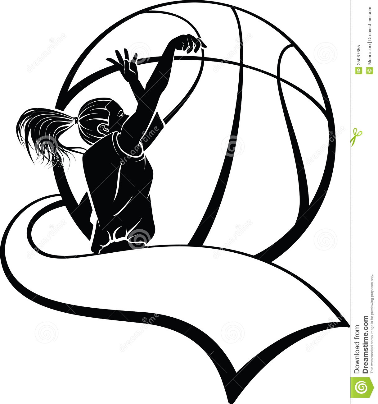 Basketball graphics clipart clipart black and white download Clipart basketball - ClipartFest clipart black and white download