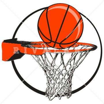 Basketball graphics clipart picture library Sports Clipart Image of Basketball Goal Net Hoop Rim Graphic http ... picture library