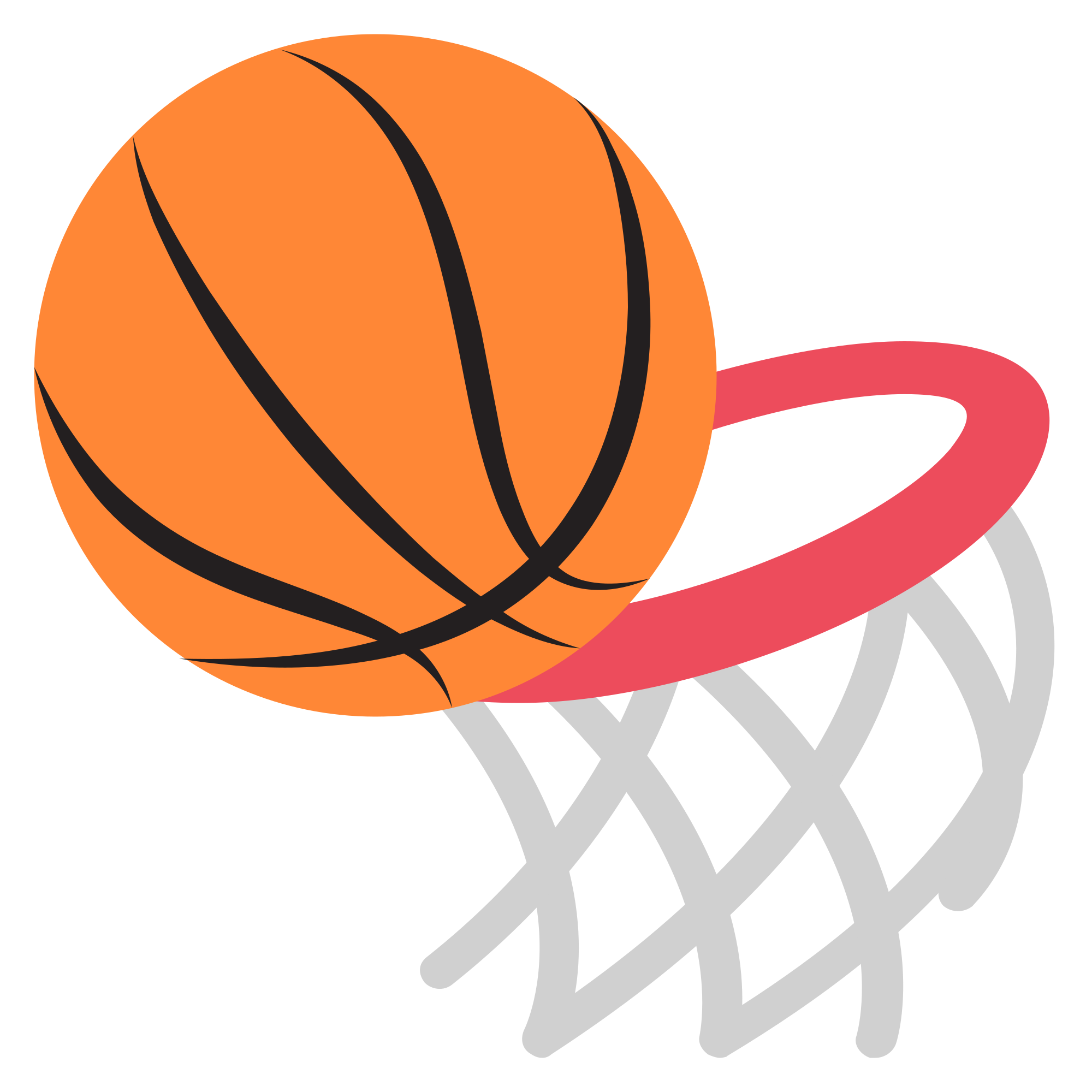 Graphic basketball clipart clip black and white Basketball And Hoop Clipart#4279479 - Shop of Clipart Library clip black and white