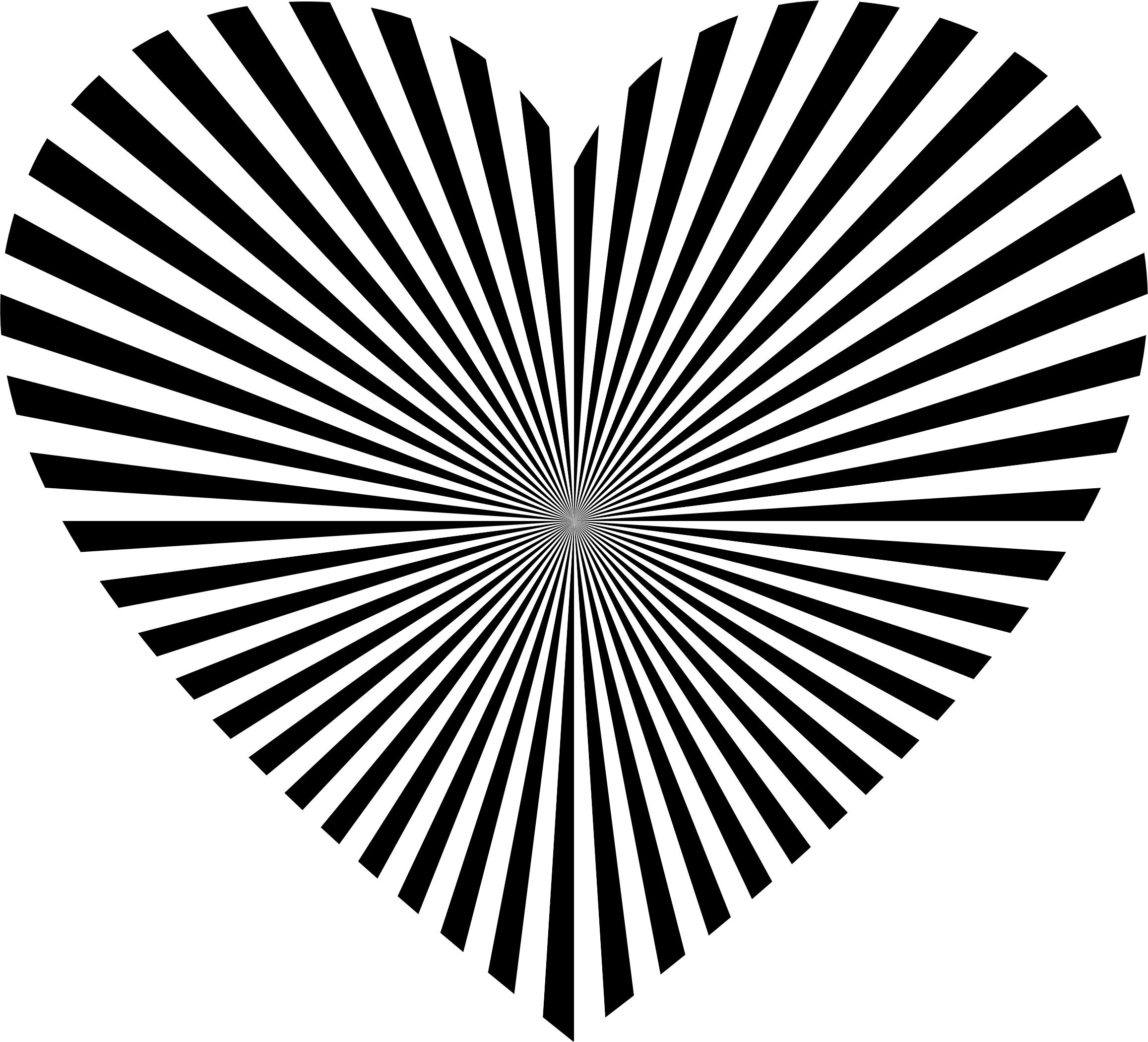 Black and white clipart of a heart banner black and white download Starburst Clipart | Free download best Starburst Clipart on ... banner black and white download