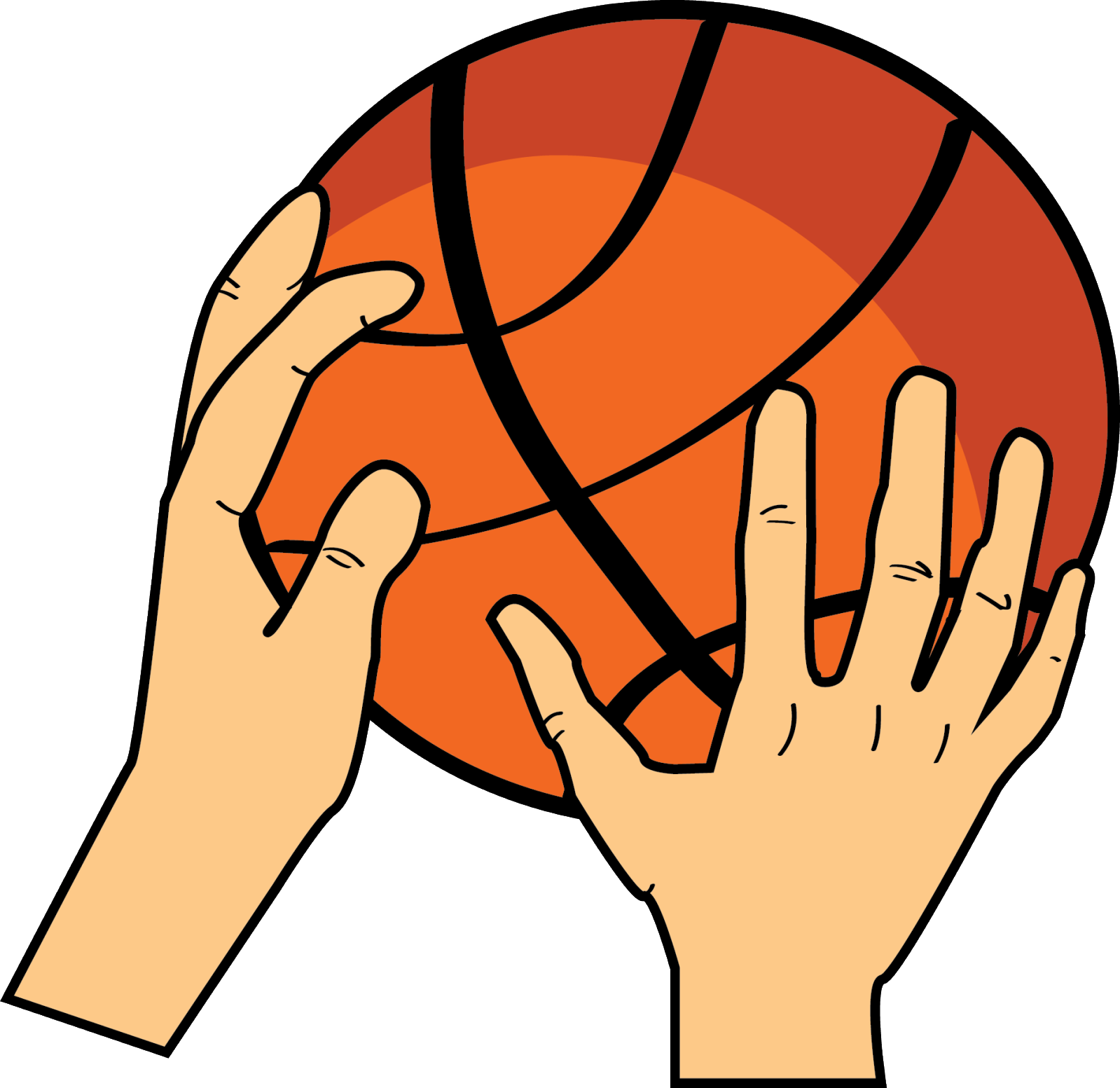 Basketball in hand clipart image library stock Hand Basketball Clip Art   Fashion Ideas image library stock