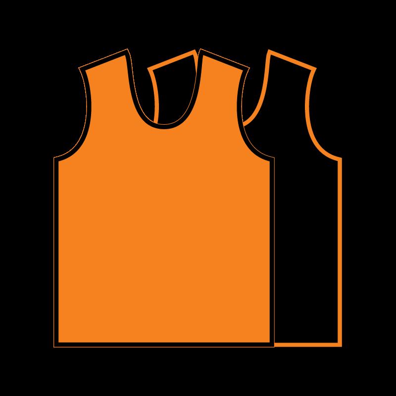 Orange basketball jersey clipart banner freeuse stock Sleeveless Reversible Basketball Jersey – Big Game Sports banner freeuse stock