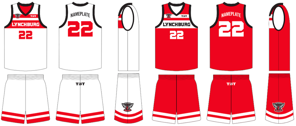 Basketball uniform clipart clip art download Lynchburg College Club Basketball Uniforms Unveiled | The Basketball ... clip art download