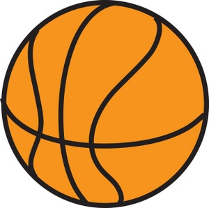 Basketball jpg clipart png transparent library Cartoon Basketball Clipart - Clipart Kid png transparent library