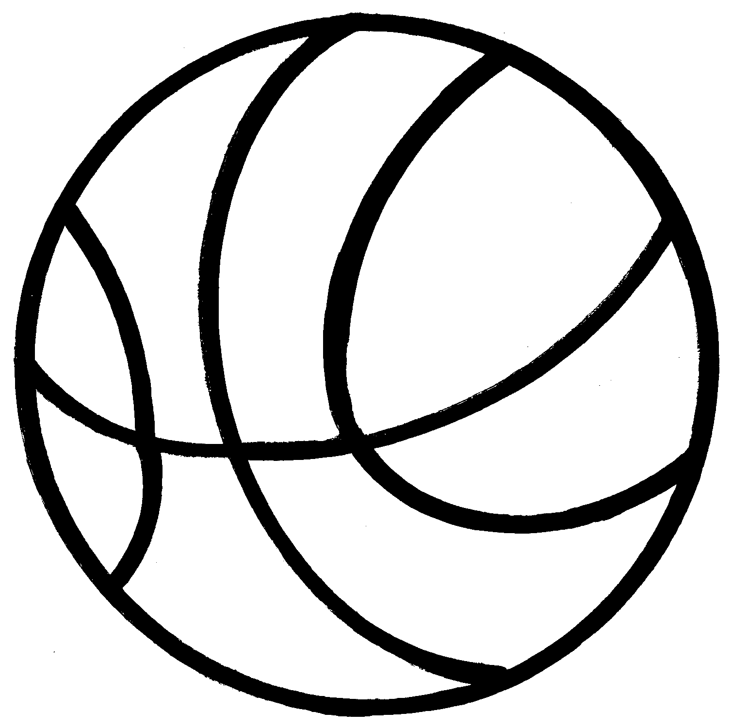 Basketball jpg clipart png library stock Basketball Clipart - Clipart Kid png library stock