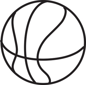 Basketball jpg clipart transparent download Basketball Clipart Black And White & Basketball Black And White ... transparent download