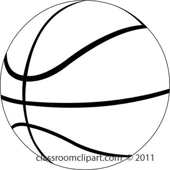 Basketball jpg clipart vector royalty free library Basketball Clipart Black And White & Basketball Black And White ... vector royalty free library