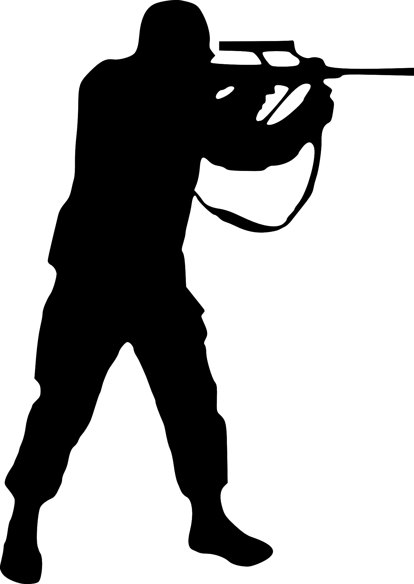 Person shooting a basketball clipart jpg free stock Man Shooting Silhouette at GetDrawings.com | Free for personal use ... jpg free stock