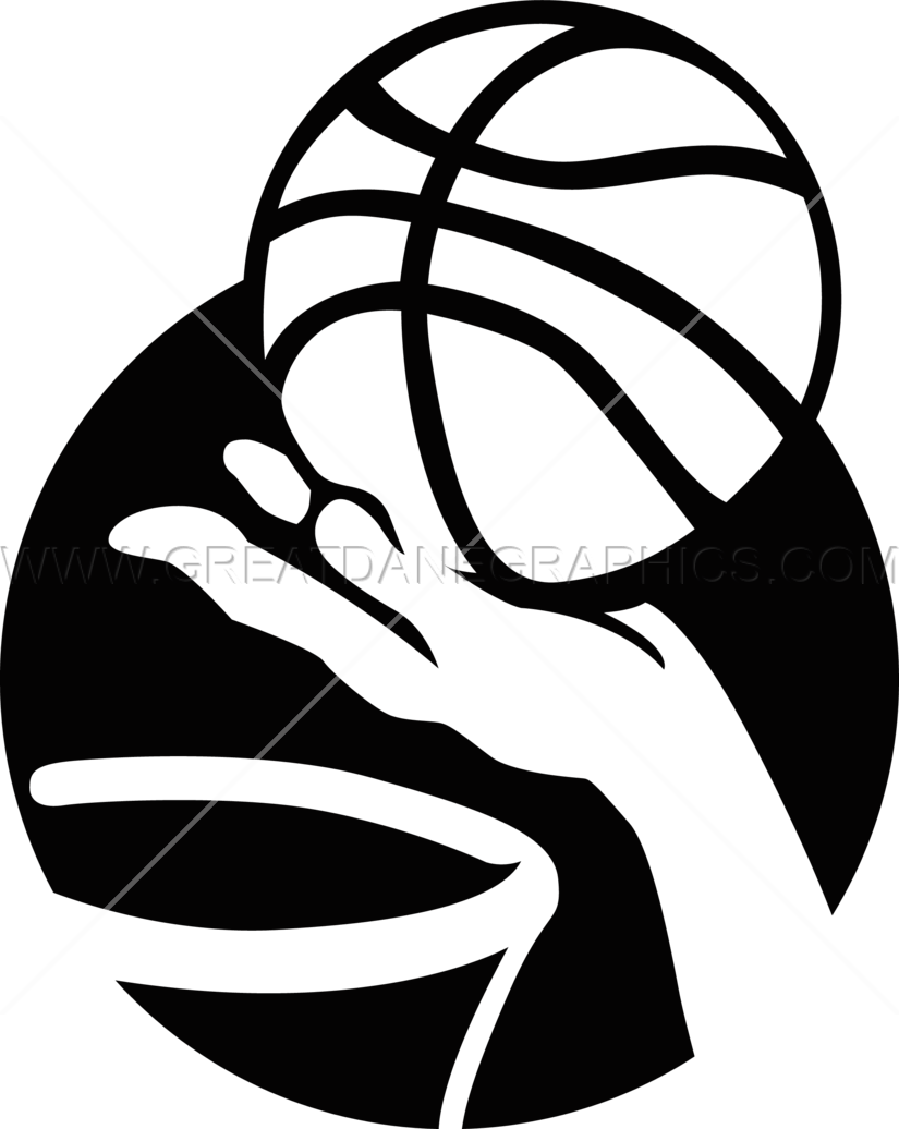 Basketball layup clipart svg library download Basketball Layup   Production Ready Artwork for T-Shirt Printing svg library download