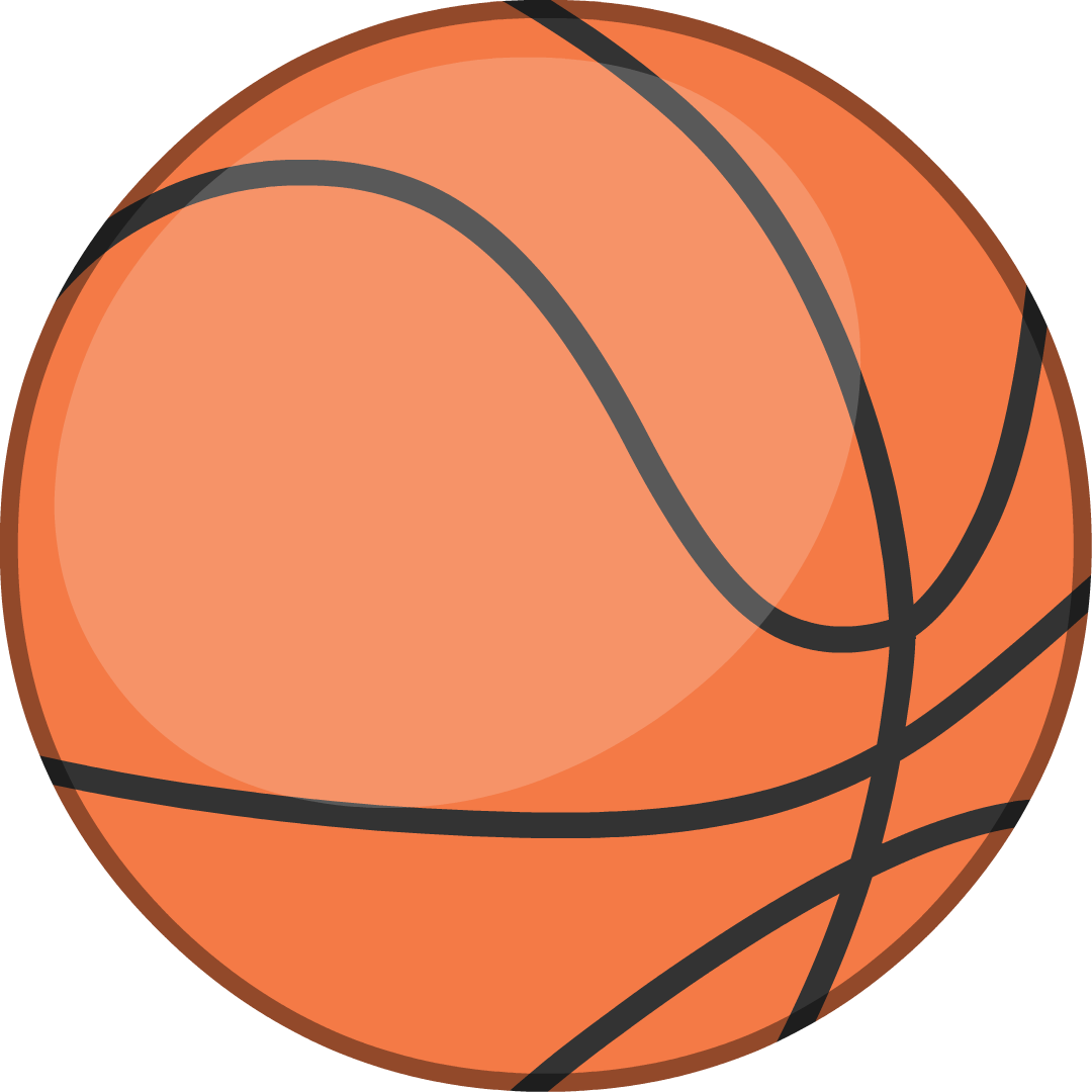 Basketball lines on ball clipart clip art royalty free download Image - New Basketball IDFB Body.png | Battle for Dream Island Wiki ... clip art royalty free download