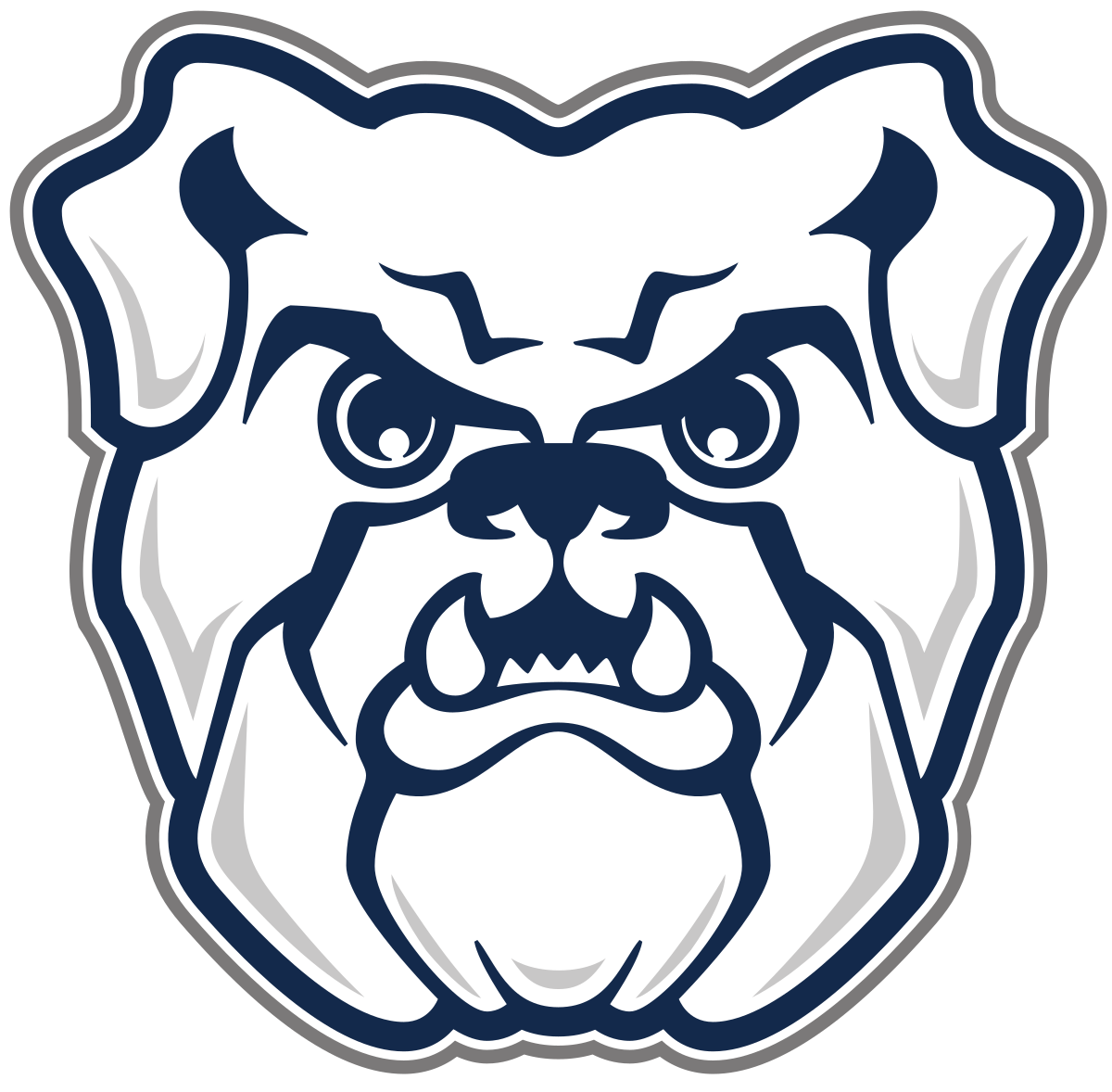 Bulldog basketball playoffs clipart graphic black and white Butler Bulldogs - Wikipedia graphic black and white