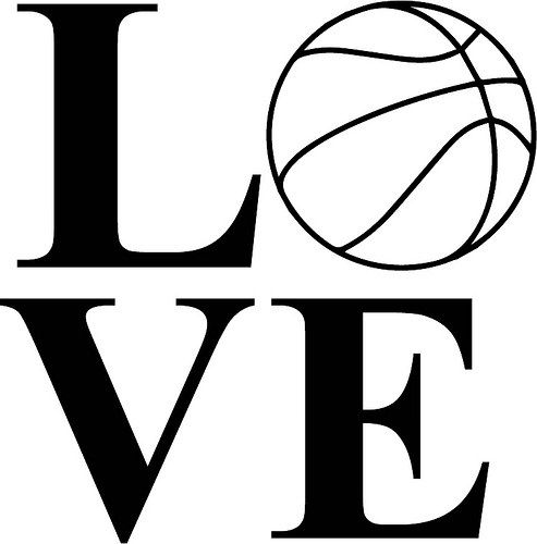 Basketball mom black and white clipart images image freeuse library Love Basketball | vinyl ideas | Volleyball, Svg cuts, Free basketball image freeuse library