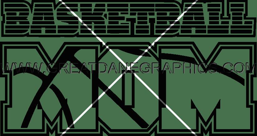 Basketball mom clipart svg royalty free Basketball Mom | Production Ready Artwork for T-Shirt Printing svg royalty free