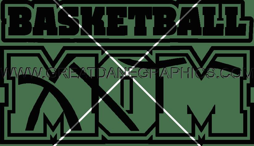 Basketball mom clipart jpg free stock Basketball Mom | Production Ready Artwork for T-Shirt Printing jpg free stock