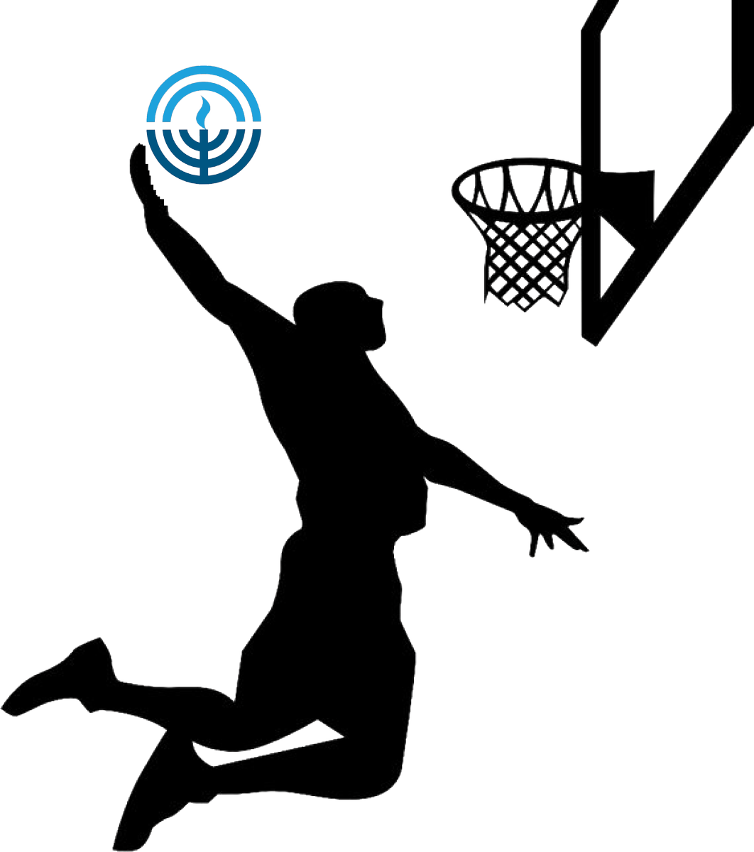 Basketball moves clipart banner transparent library Jewish Fed KC on Twitter: