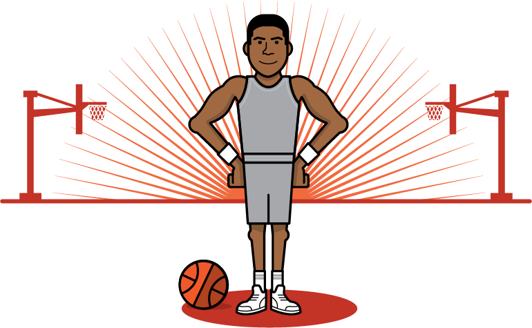 Basketball moves clipart clip library library NBA - Eight archetypes of today's NBA big man clip library library