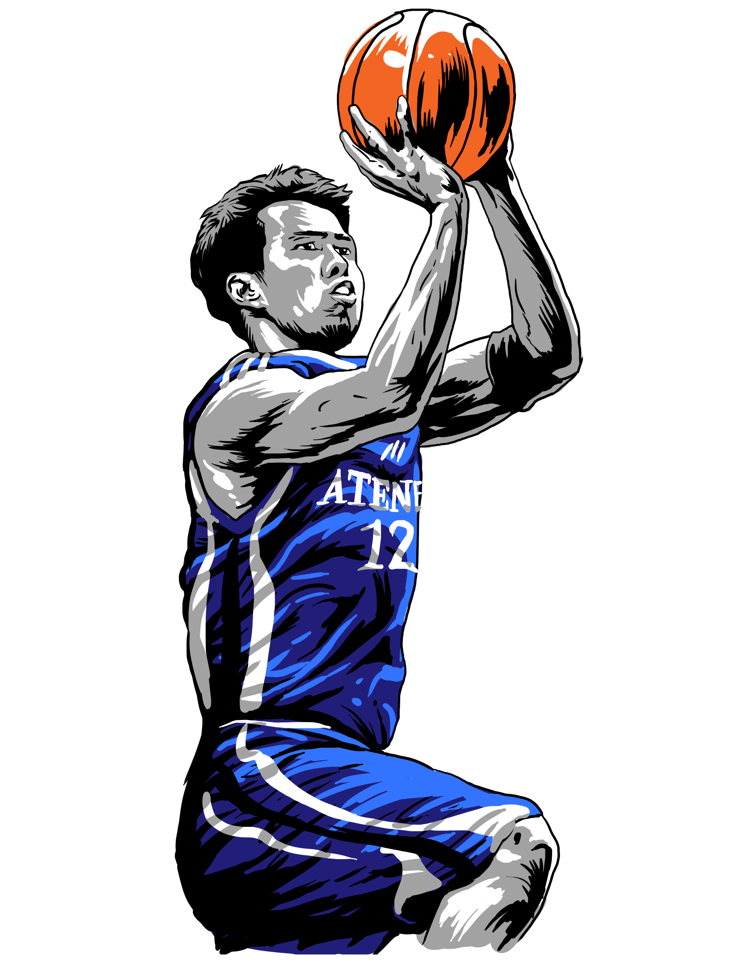 Basketball player block clipart png Larry's Block Party: Film Review - BuhayBasket png