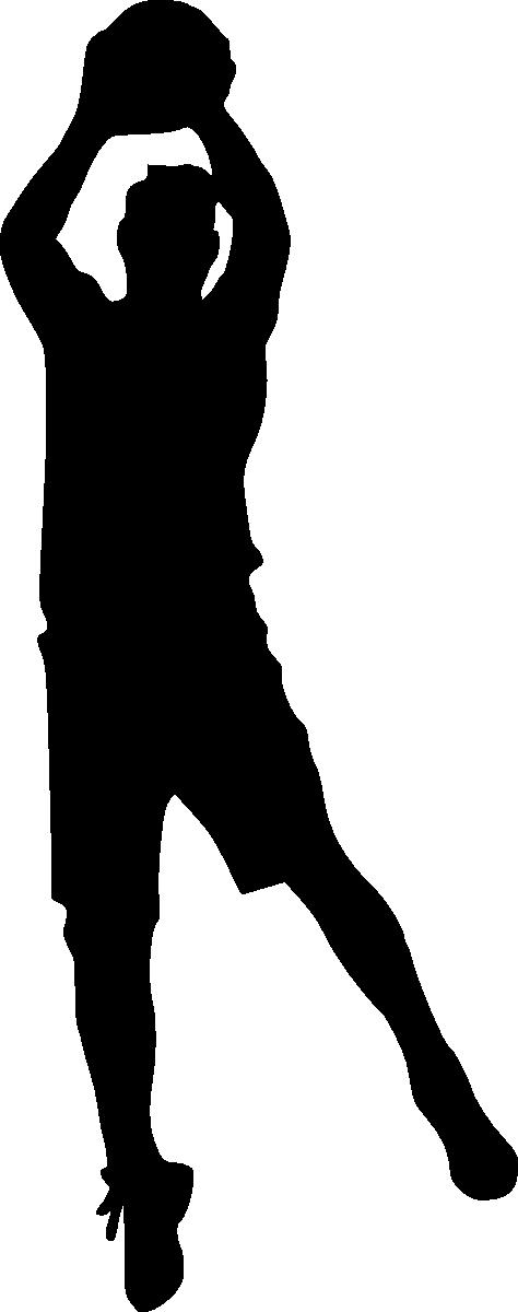 Girl basketball player clipart black and white jpg transparent stock 19 Basketball Player Silhouette (PNG Transparent) | OnlyGFX.com jpg transparent stock