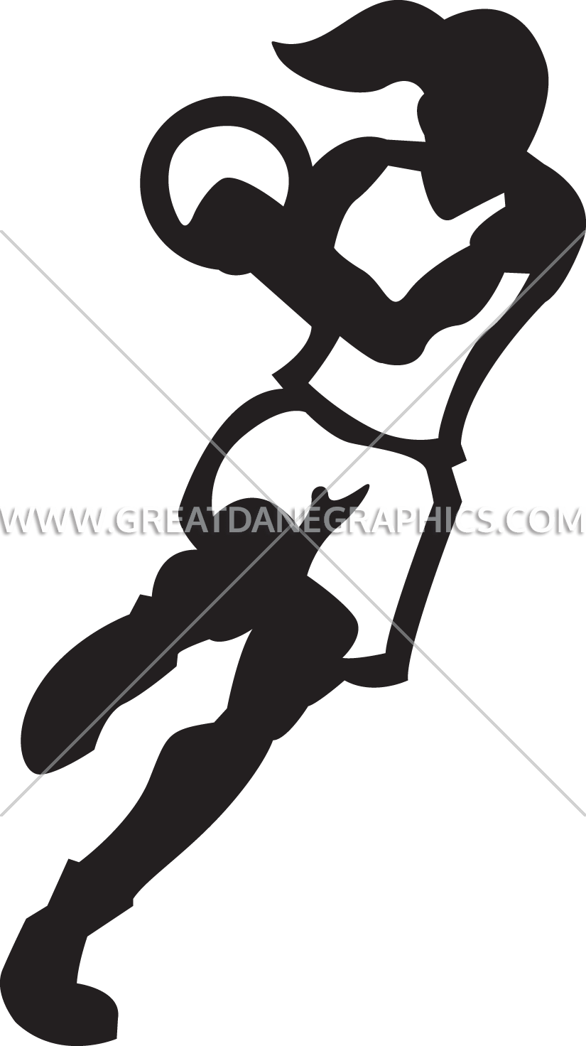 Girl basketball players clipart svg transparent Female Basketball Player Silhouette at GetDrawings.com | Free for ... svg transparent