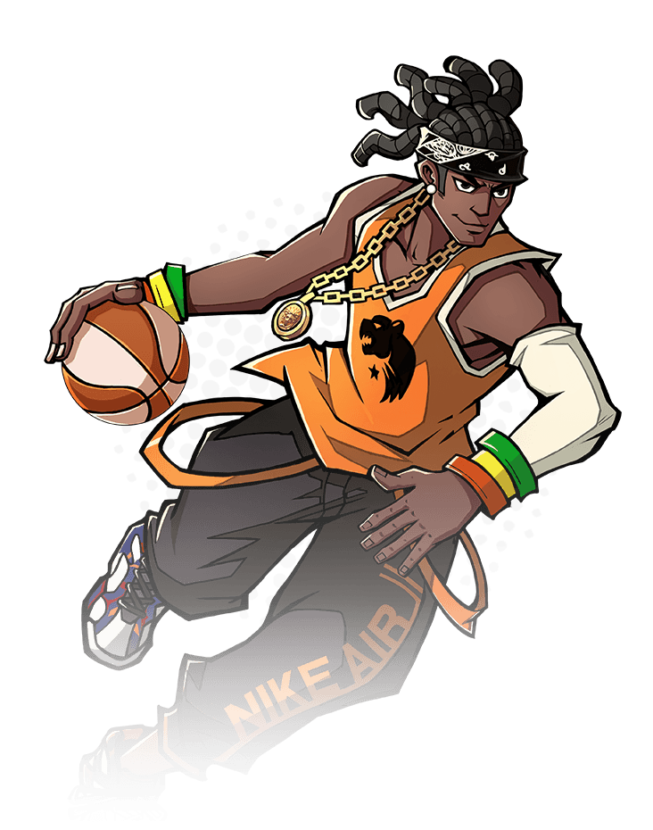 Basketball player doing a layup clipart svg royalty free library Basketball Hero: Free 3on3 sports MOBA svg royalty free library