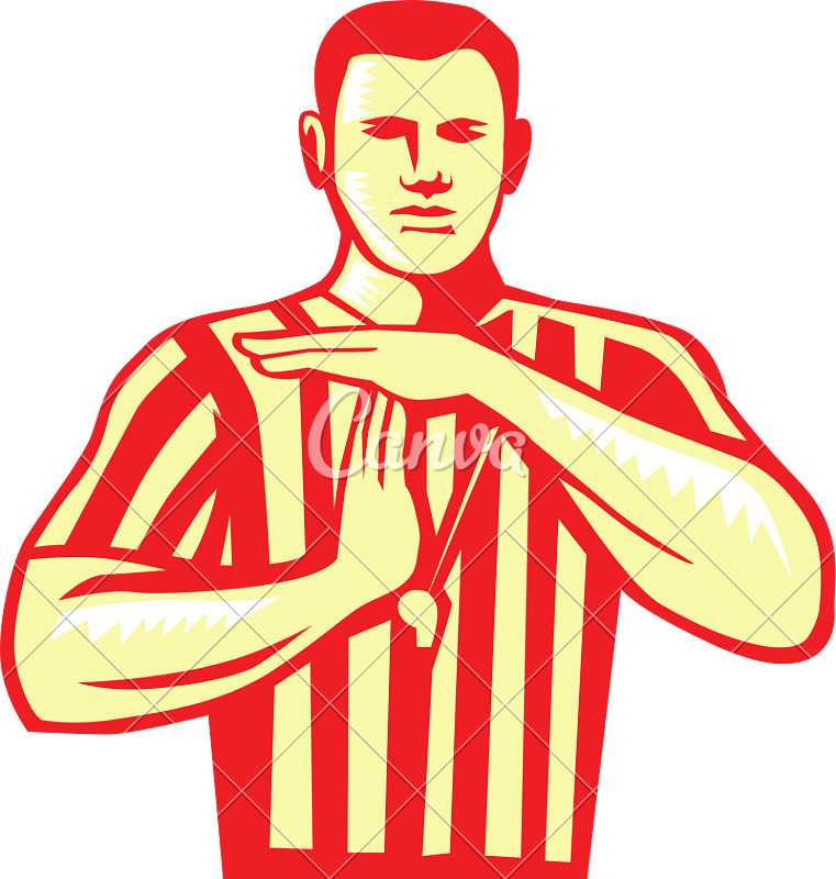 Foul basketball clipart jpg library library Referee Sport Whistle - Photos by Canva jpg library library