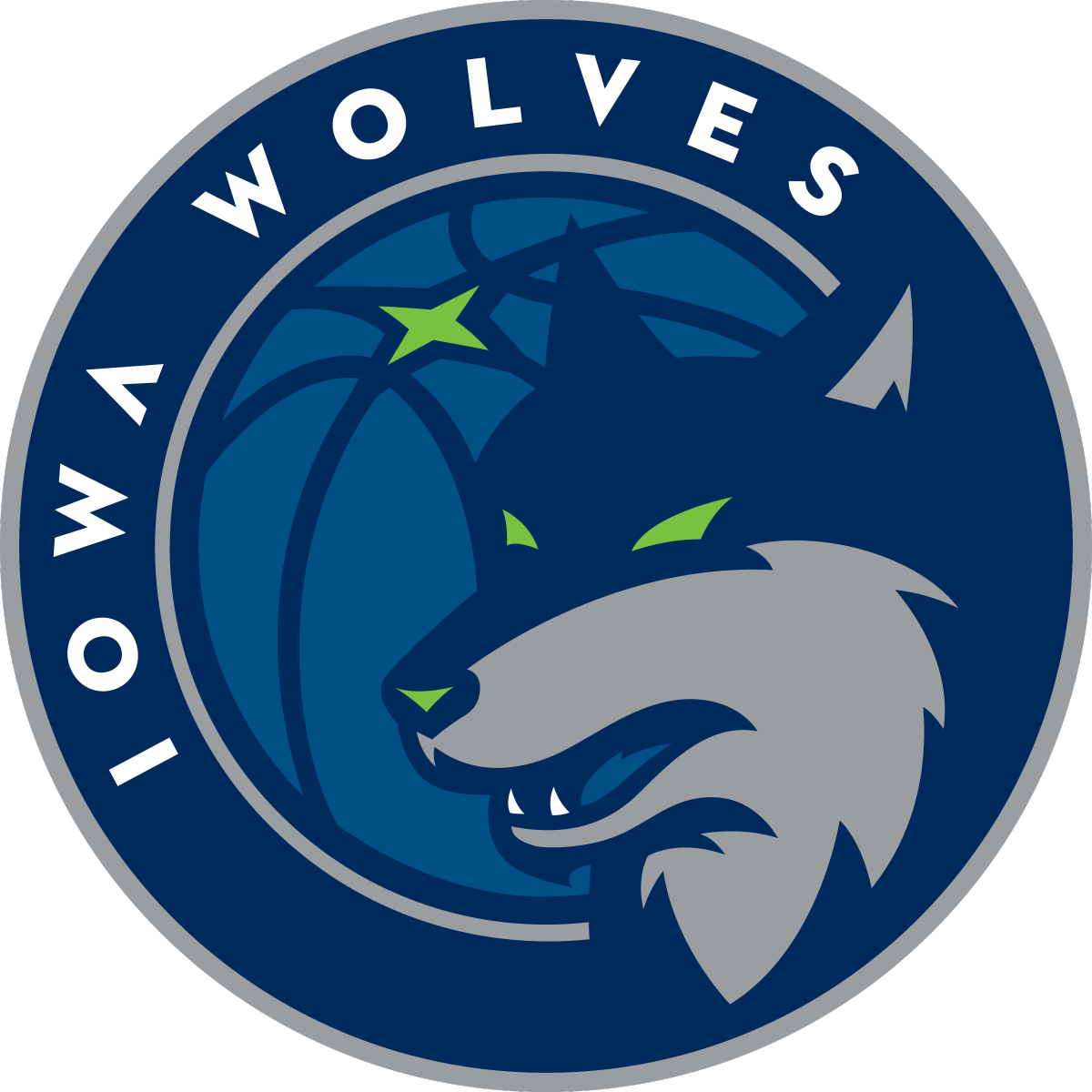 Cobra baseball mascot clipart royalty free library Iowa Wolves Primary Logo (2018) - | Illustration (Team Mascot ... royalty free library