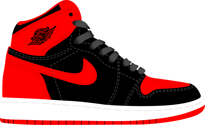 Nike basketball tennis shoe clipart clipart freeuse download A History of Skate Shoes - Interactive Timeline | Simple Shoes clipart freeuse download