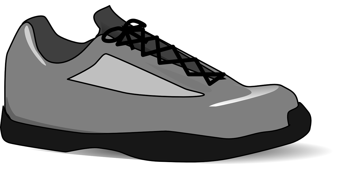 Basketball shoes images black and white clipart clipart royalty free Shoe Sneakers Clip art - Shoe logo 1280*640 transprent Png Free ... clipart royalty free
