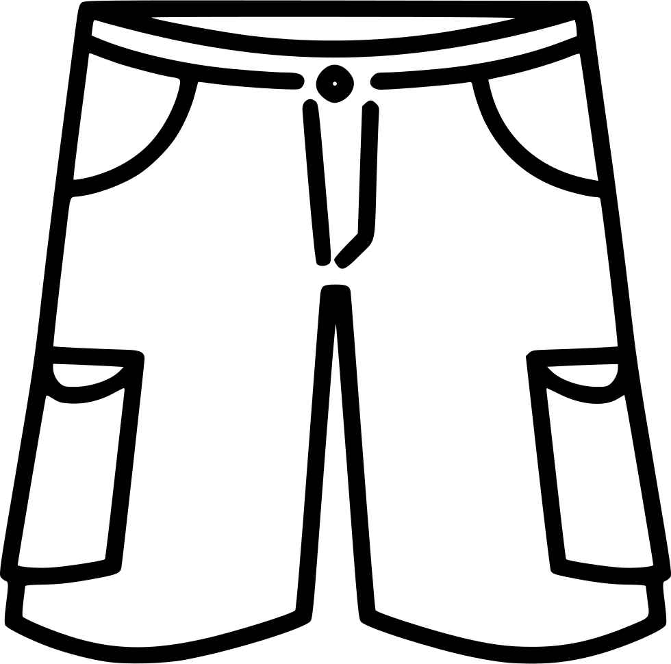 Basketball shorts clipart black and white library Clipart Basketball Shorts black and white library