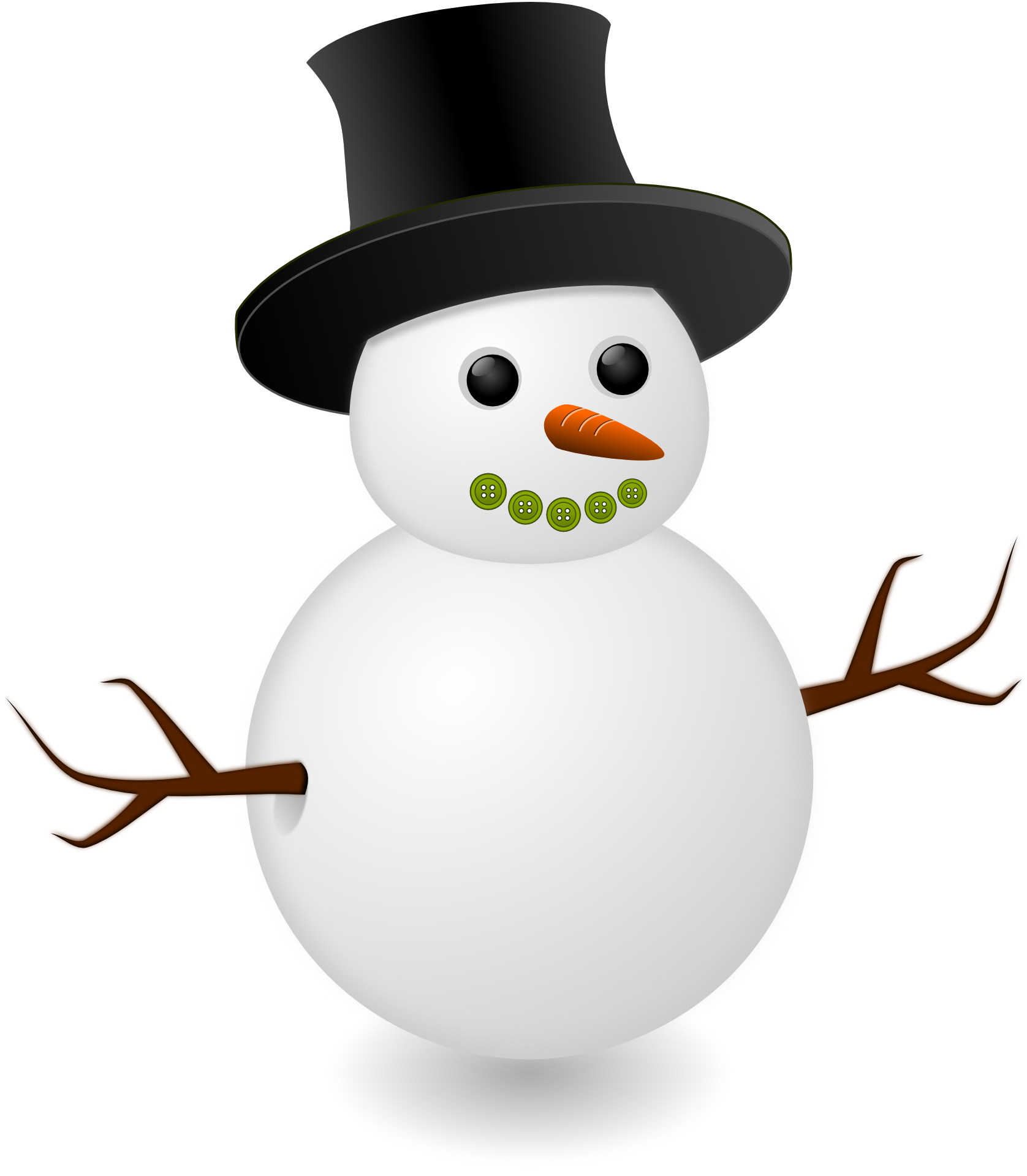 Snowman clipart with crown graphic library library Free snowman clipart images | ClipartMonk - Free Clip Art Images graphic library library