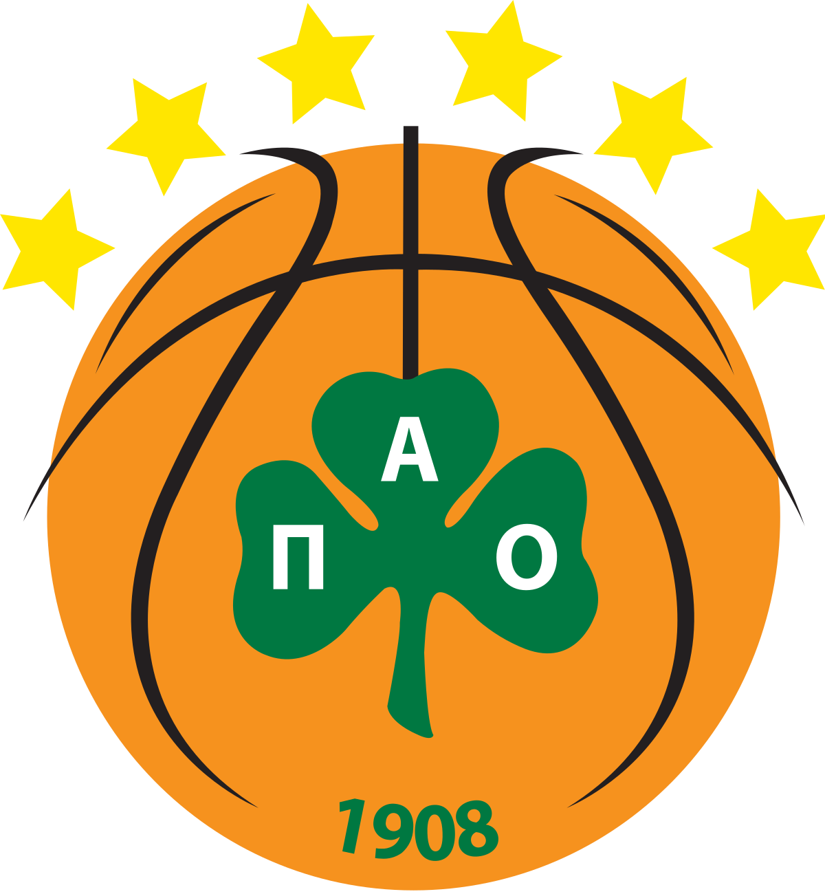 Basketball stars branches clipart clipart download Panathinaikos B.C. - Wikipedia clipart download