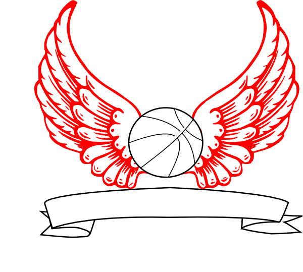 Basketball stars branches clipart image freeuse download Basketball Angel Wings Clip Art at Clker.com - vector clip art ... image freeuse download