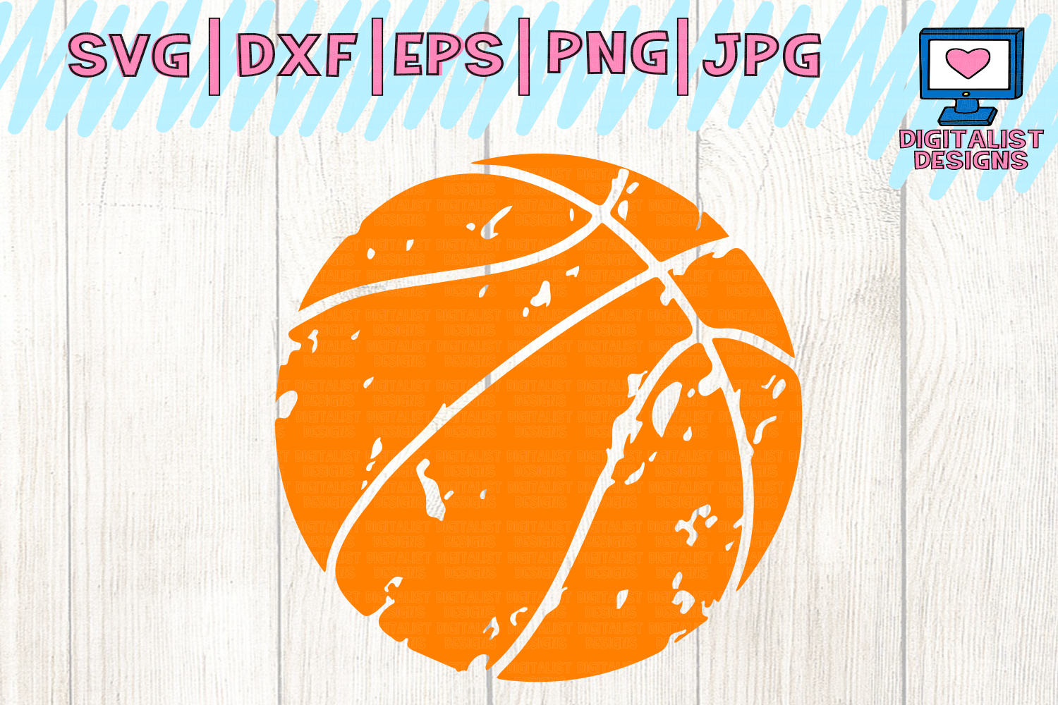 Basketball svg clipart clip library library Distressed basketball svg, basketball clipart clip library library