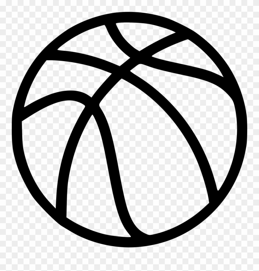 Basketball svg clipart jpg freeuse download Gym Ball Clipart Ball Game - Basketball Svg Free - Png Download ... jpg freeuse download