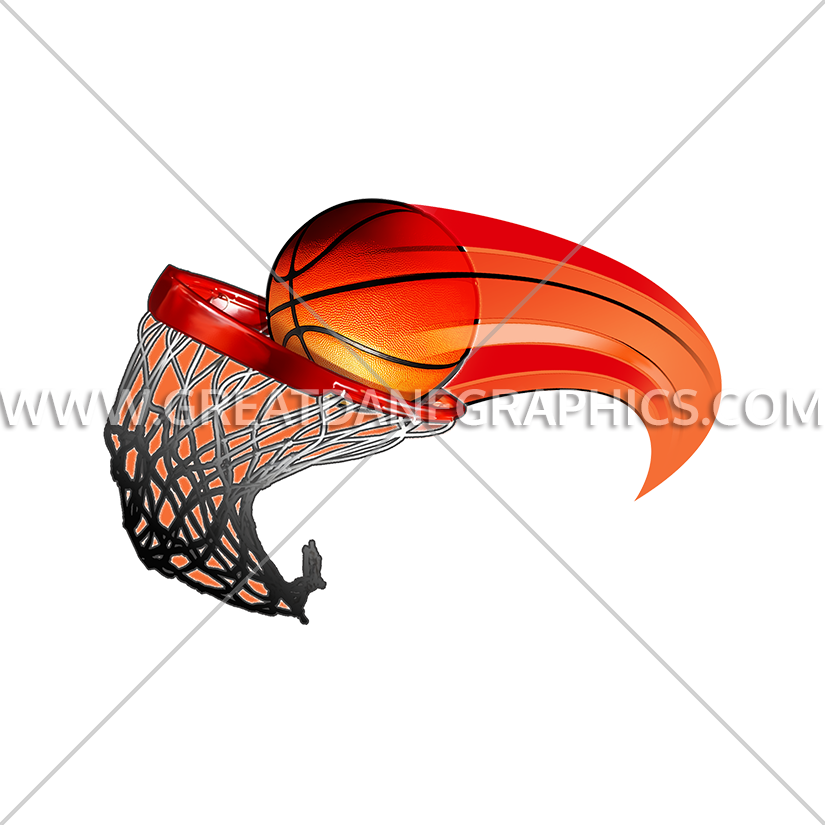 Basketball swoosh clipart free clip art black and white stock Basketball Swoosh | Production Ready Artwork for T-Shirt Printing clip art black and white stock