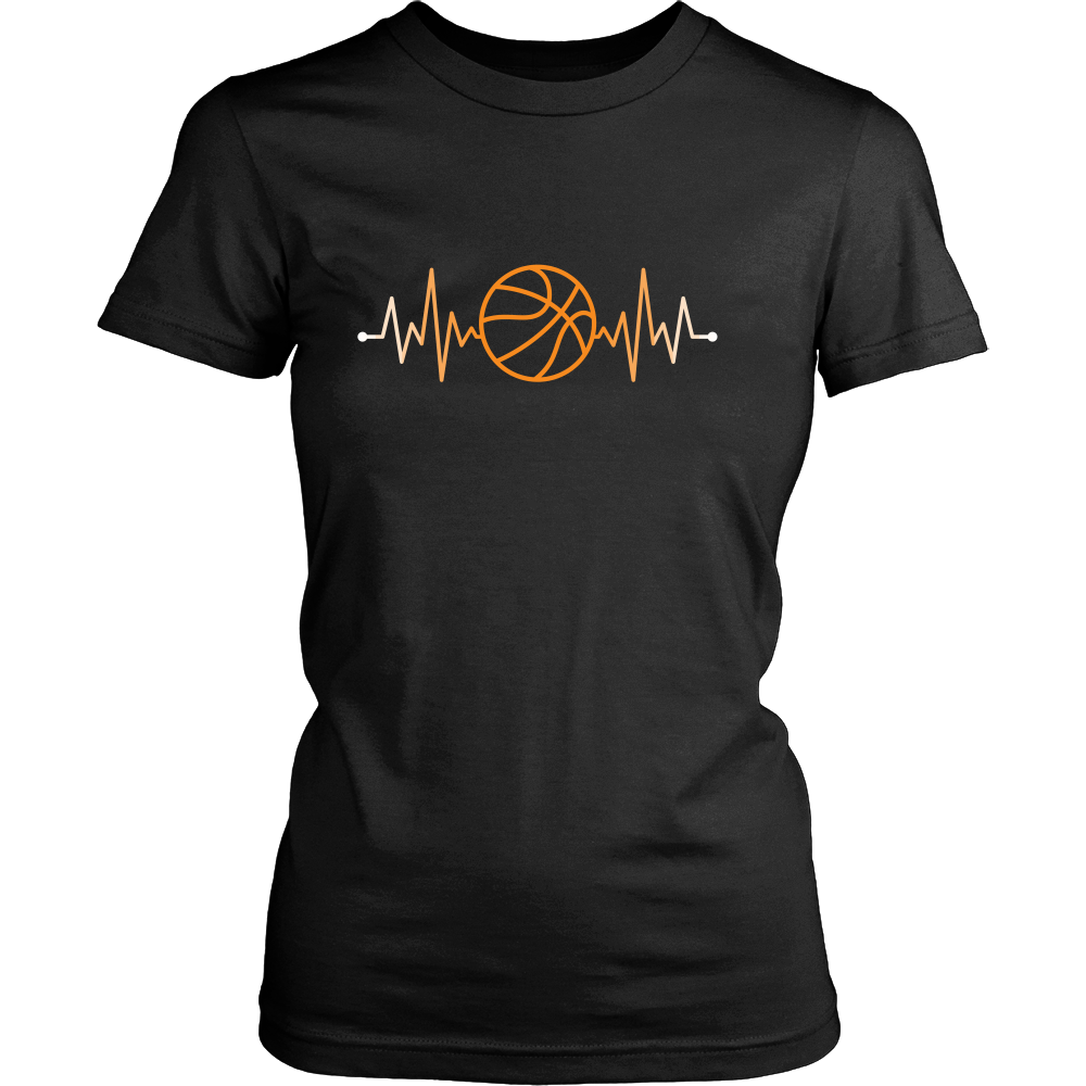 Basketball tear clipart svg black and white stock Sport T Shirt - Basketball Rhythm Basketball Pulse | Pinterest ... svg black and white stock