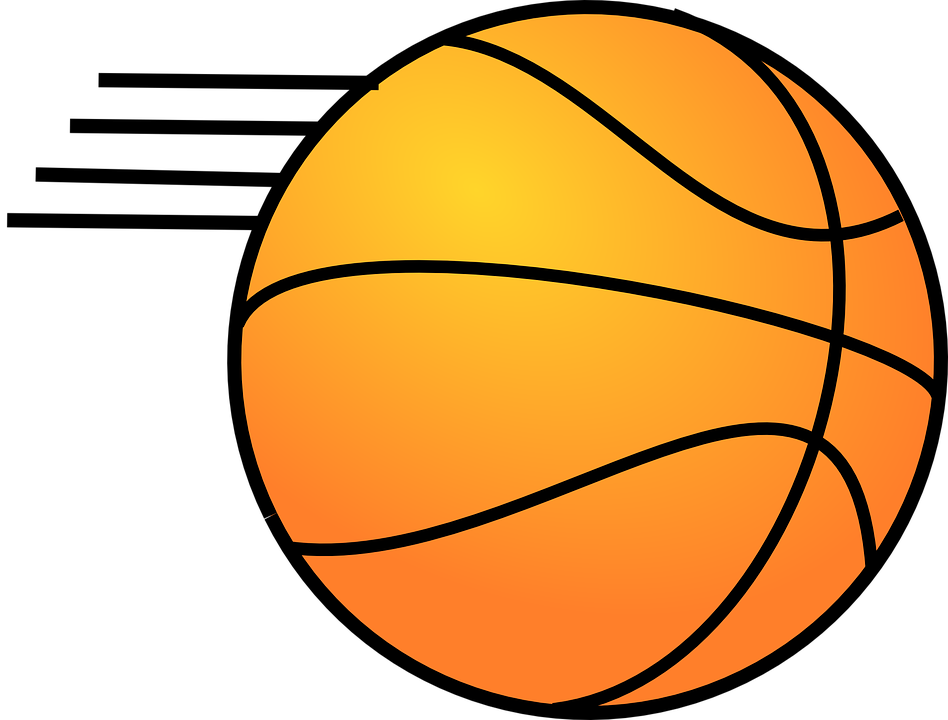 Basketball team free clipart png black and white library Basketball In Motion Clipart & Basketball In Motion Clip Art Images ... png black and white library