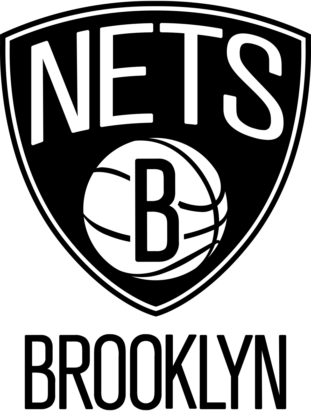 Basketball tear clipart banner transparent stock Brooklyn Nets - Wikipedia | Sports | Pinterest | NBA, Basketball art ... banner transparent stock