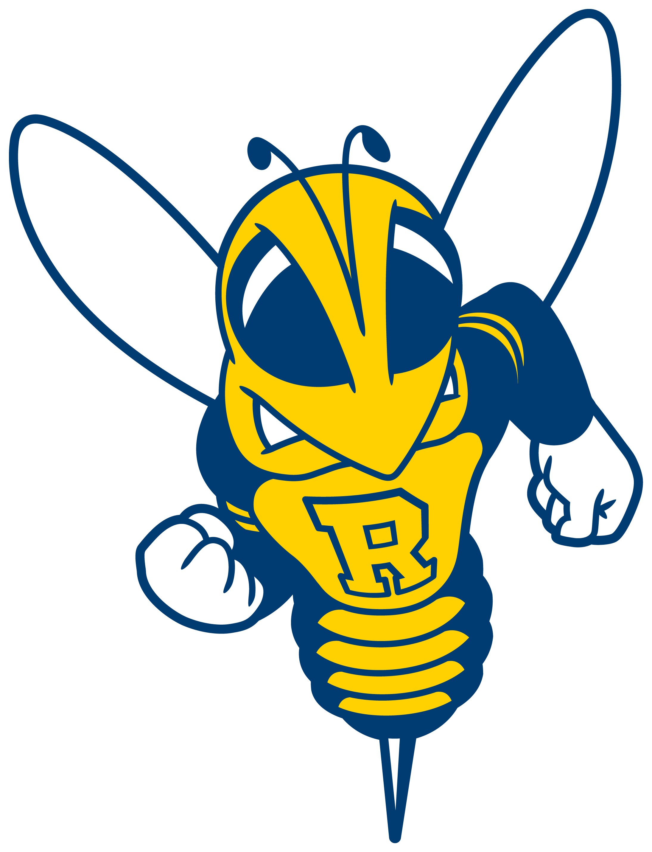 Basketball tear clipart banner library library Yellowjackets, University of Rochester (Rochester, New York) Div III ... banner library library
