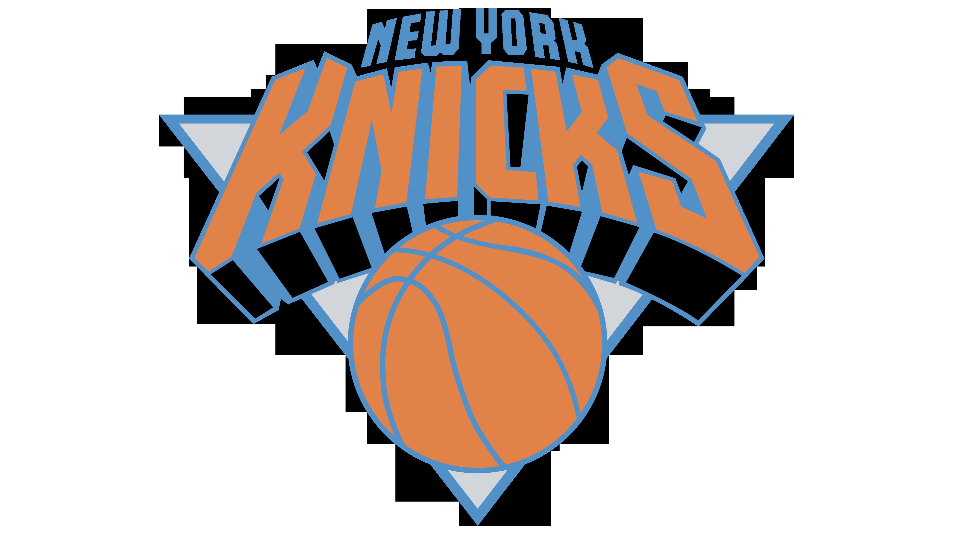 Modern basketball clipart jpg free stock New York Knicks logo - Interesting History of the Team Name and emblem jpg free stock