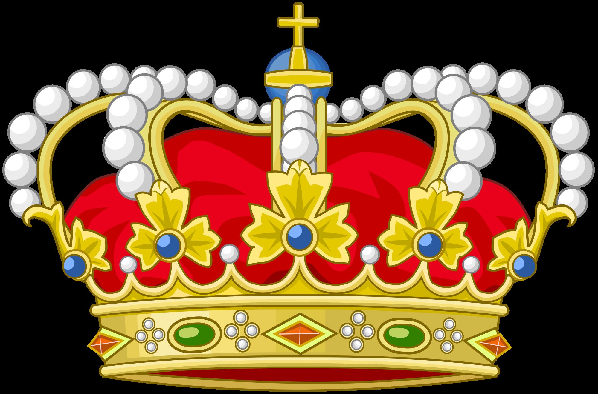 Heraldry crown clipart vector vector transparent stock Spain crown clipart vector transparent stock
