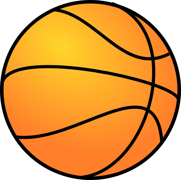 Basketball with form clipart vector royalty free Basketball Clip Art at Clker.com - vector clip art online, royalty ... vector royalty free