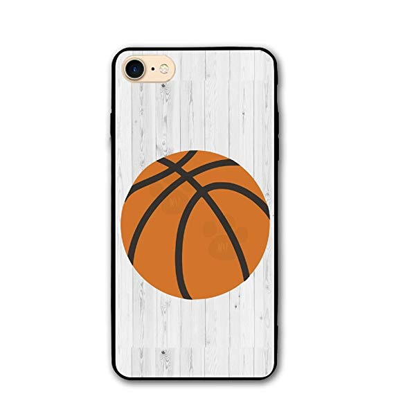 Basketball with scratches going through it clipart png royalty free library Amazon.com: Wood Basketball Sports Clipart PC IPhone 8/8S Case ... png royalty free library